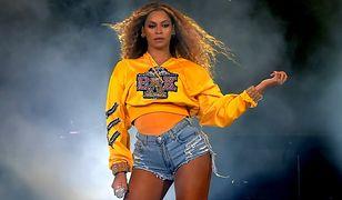 Beyoncé podczas występu na tegorocznym festiwalu Coachella.