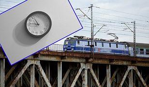 Zmiana czasu 2020 wpłynie na rozkład jazdy części pociągów.