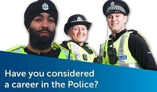 Hidżab jako część policyjnego umundurowania. Tak szkocka policja zachęca muzułmanki do zasilania jej szeregów