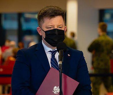 Konferencja szefa KPRM Michała Dworczyka. Nowe informacje o programie szczepień