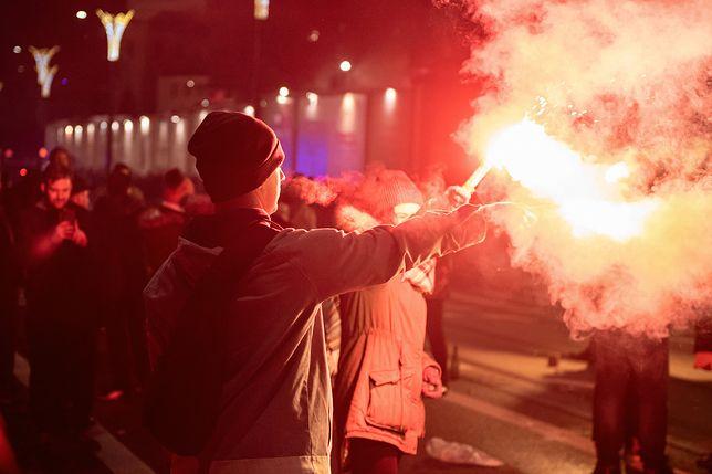 Sylwester 2019  odbywa się w Olsztynie bardziej na trzeźwo. Od godz. 22 sklepy nie sprzedają alkoholu ze względu na nocną prohibicję.