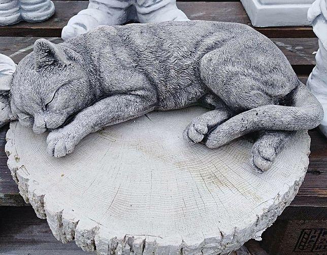 Zdjęcie figurki kotka zostało udostępnione na facebookowym profilu zmarłego chłopca