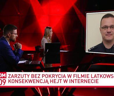 Kuba Wojewódzki i Borys Szyc z ochroną po filmie Latkowskiego? Insp. Mariusz Ciarka komentuje