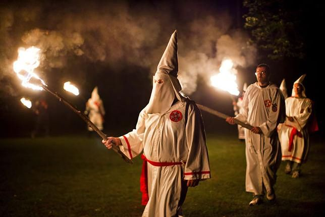 Ku Klux Klan w Polsce. Internauci są przerażeni