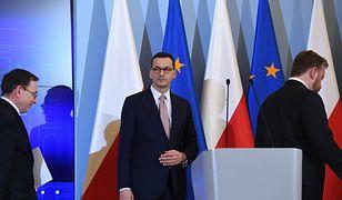 Premier Mateusz Morawiecki ogłasza czasowe zawieszenie ruchu granicznego w Polsce