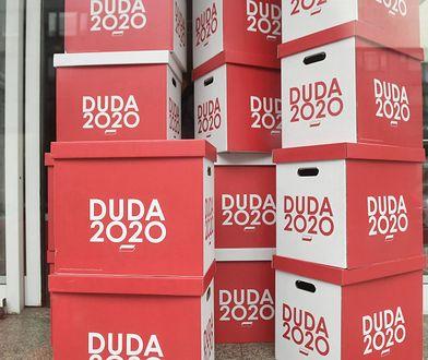 Podpisy poparcia dla kandydatury Andrzeja Dudy w wyborach prezydenckich. 19 marca 2020 r.