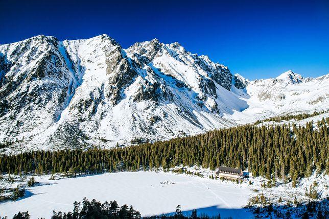 Popradzki Staw w słowackich Tatrach Wysokich
