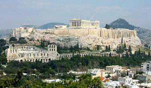 Akropol - wzgórze Aten i zabytki