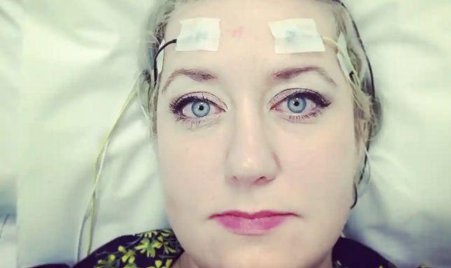 Dawn Foster w szpitalu