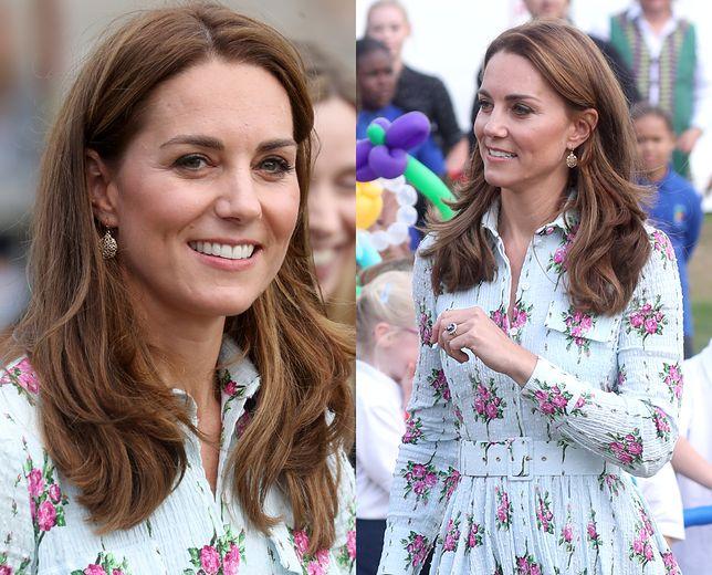 Księżna Kate wyglądała skromnie, choć wystąpiła w kreacji wartej fortunę