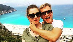 Para na greckiej wyspie