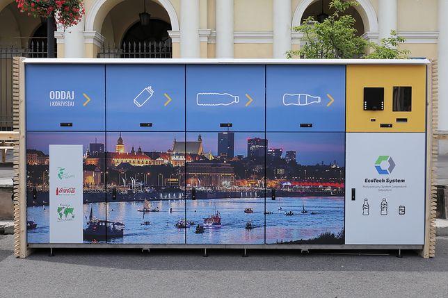 Warszawa. W stolicy pojawią się kolejne recyklomaty