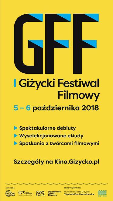 Giżycki Festiwal Filmowy już w najbliższy weekend- 5 i 6 października