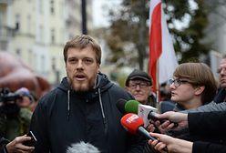 Partia Razem w Przemyślu nie mogła wywiesić plakatów przed spotkaniem z Adrianem Zandbergiem