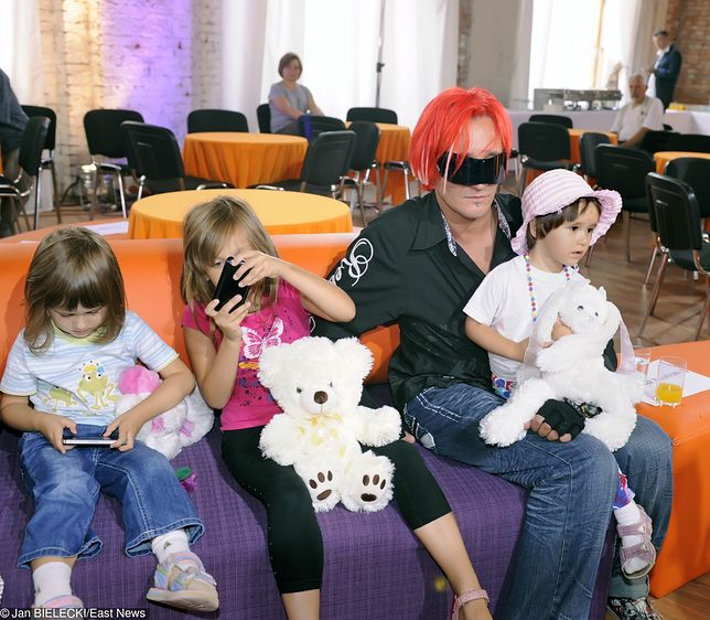 Dzieci Michała Wiśniewskiego to już nastolatki