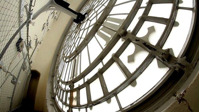Wnętrza największych atrakcji - Big Ben, Londyn, Wielka Brytania