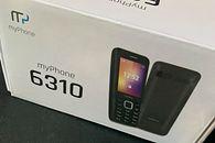 Dzwonił 2008 rok i prosi o oddanie MyPhone 6310 – recenzja - Proste, minimalistyczne pudełko