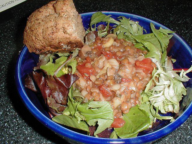 Potrawka z soczewicy i pomidorów po etiopsku