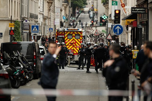 Paryż: uzbrojony mężczyzna wziął zakładników. Napastnik został aresztowany