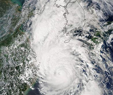Nie tylko huragan Dorian. Tajfun Lingling spustoszył Półwysep Koreański