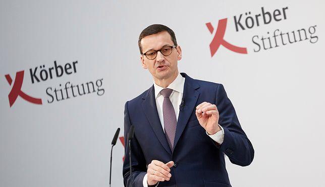 Mateusz Morawiecki w Berlinie
