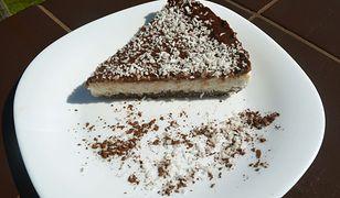 Kokosowe ciasto bez pieczenia i bez cukru. Idealne dla osób na diecie
