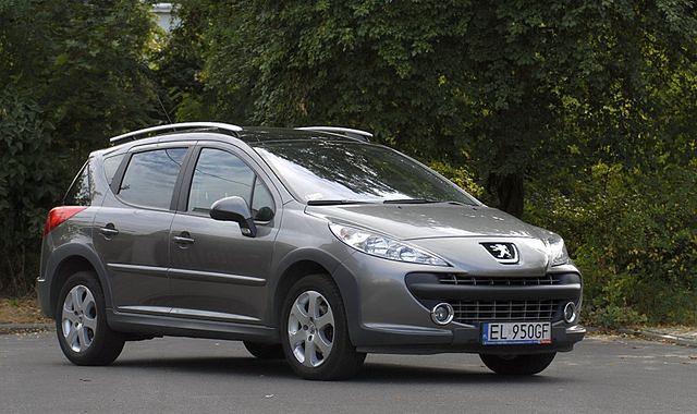 Peugeot 207 SW 1,6 HDI: miejskie kombi