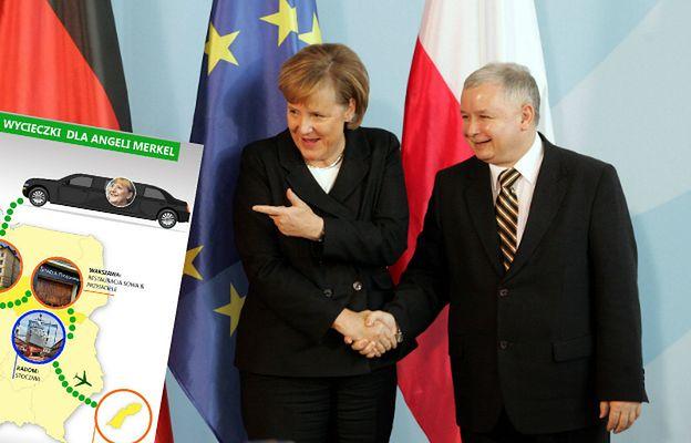 Plan wycieczki dla Angeli Merkel. Użytkownicy zdecydowali, gdzie wysłać kanclerz Niemiec