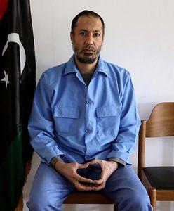Libia. Syn Kadafiego na wolności. Od razu uciekł z kraju