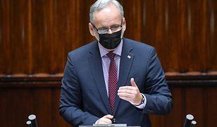 Grzegorz Braun groził Adamowi Niedzielskiemu. Minister: Oczekuję surowych kroków