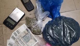 32-letni mieszkaniec Targówka miał w domu m.in. marihuanę.