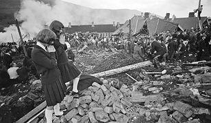 W katastrofie w Aberfan zginęły 144 osoby. W tym 116 dzieci