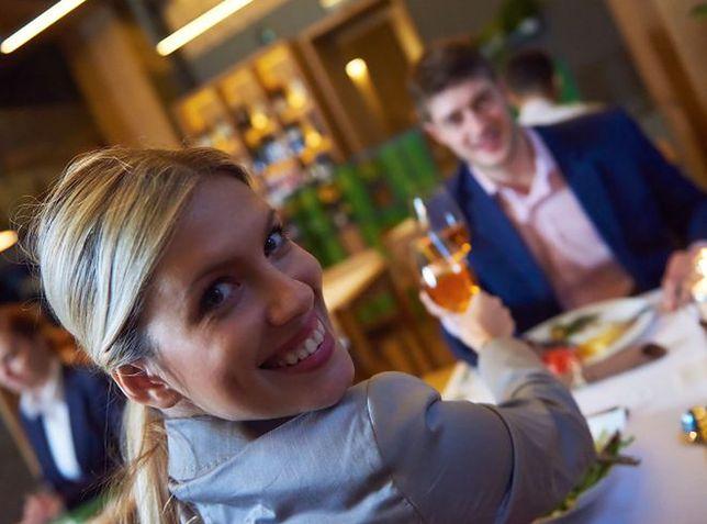 Idealna randka dla kobiety to kolacja