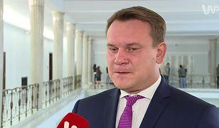 Dominik Tarczyński o słowach Aleksandra Kwaśniewskiego w programie WP Rozmowa: to absolutny skandal