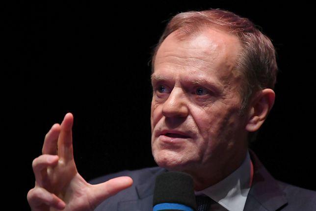 Donald Tusk na pogrzebie Pawła Adamowicza nie krył wzruszenia