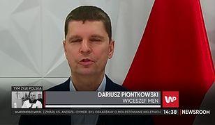 """Piontkowski: """"Powinniśmy myśleć o powrocie maturzystów i klas VIII do szkół"""""""