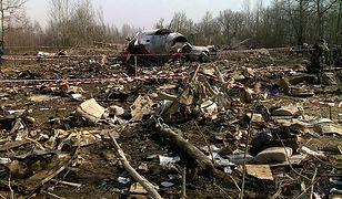 Miejsce katastrofy Tu-154M w Smoleńsku