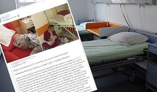 Kobieta jest w szpitalu ze swoim 5-miesięcznym dzieckiem