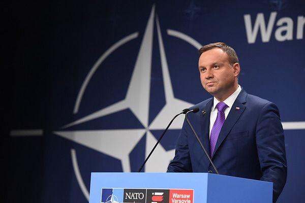 Duda po rozmowie z Obamą: nie widzi zagrożenia dla demokracji w Polsce