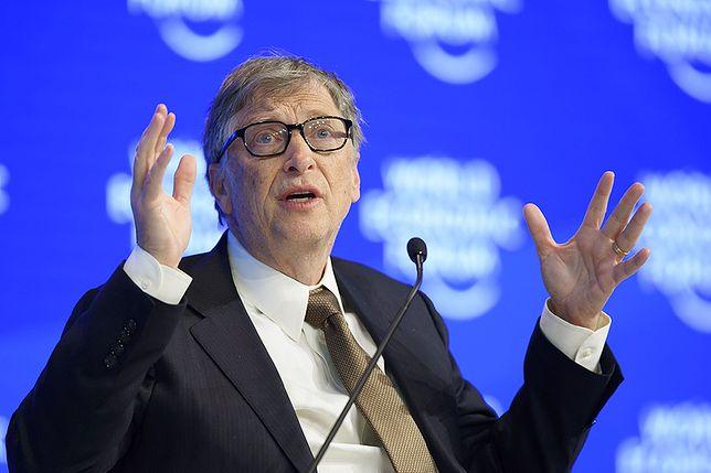 Poglądy Billa Gatesa mogą zaskakiwać
