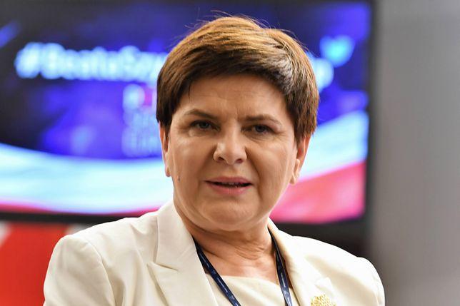 Beata Szydło stwierdziła, że zastanowi się nad propozycją Róży Thun