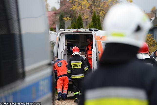 Na miejscu reanimację podjęli strażacy