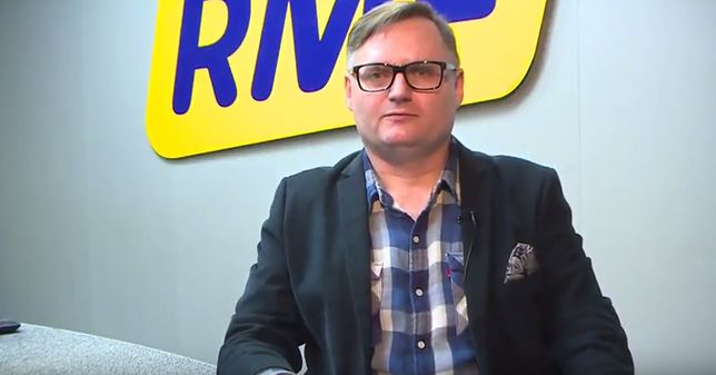 Bogdan Zalewski jest dziennikarzem RMF FM