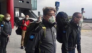 Polscy lekarze walczą z koronawirusem w Lombardii na północy Włoch