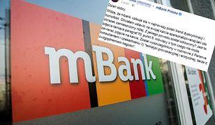 mBank dyskryminuje klientów? Tak twierdzi klientka