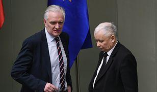 Koronawirus w Polsce i wybory prezydenckie. Jarosław Gowin i Jarosław Kaczyński w Sejmie.