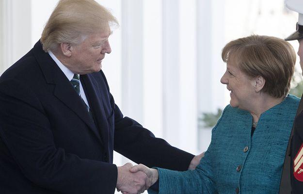 Trwa spotkanie Merkel i Trumpa w Białym Domu