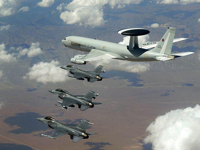 NATO wykorzystuje w Europie 17 sztuk E-3A, które są obsługiwane przez wielonarodową załogę