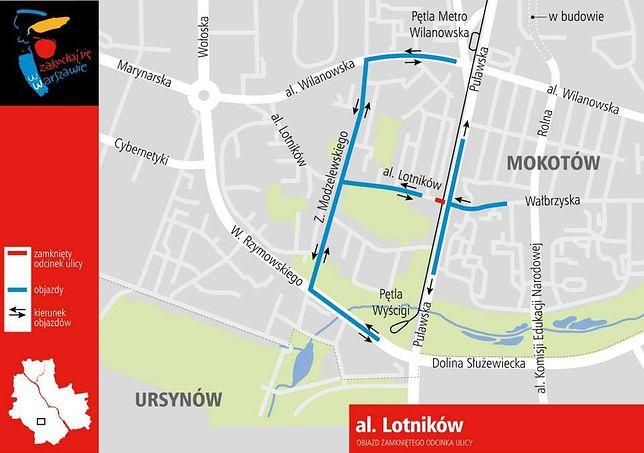 Zmiany na ulicach Warszawy