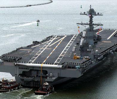 Lotniskowiec za 13 miliardów dolarów nie działa. USS Gerald R. Ford miał być cudem inżynierii